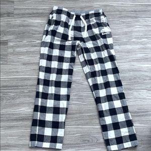 Roots plaid pyjama pants